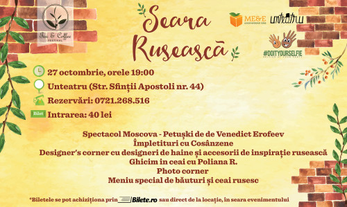 Seara Ruseasca Tea&Coffee Festival